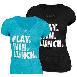 Play, Win, Lunch Tennis Tee