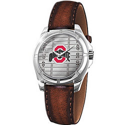 Go Buckeyes Ohio State University Men's Watch
