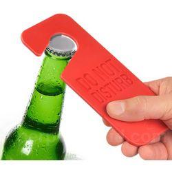I Drink Alone Bottle Opener