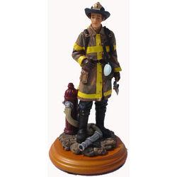 America's Heroes Fireman Figurine