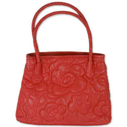 Red Romance Leather Handbag