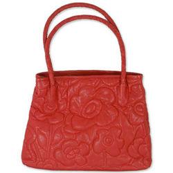 Red Romance Leather Handbag