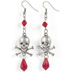 Skull & Crossbones Earring Craft Kit