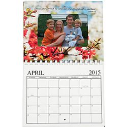 2015 Religious Picture Frame Wall Calendar