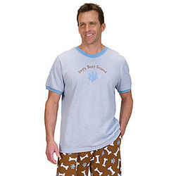Dog's Best Friend Pajamas for Men