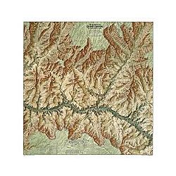 Heart of the Grand Canyon Map