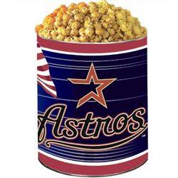 Houston Astros 3-Way Popcorn Gift Tin