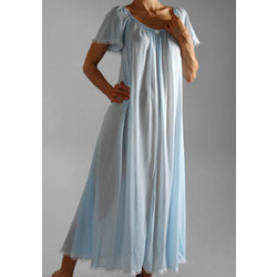 Short Sleeve Ankle Length Nightgown