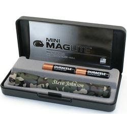 Engraved Mini Maglite AA Gift Set