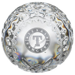 Waterford Crystal Texas Rangers Baseball