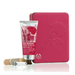 The Body Shop Wild Rose Manicure Set