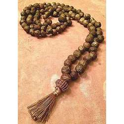 Olive Gold Beaded Gratitude Necklace