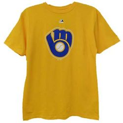 Youth's Retro Milwaukee Brewers Gold T-Shirt