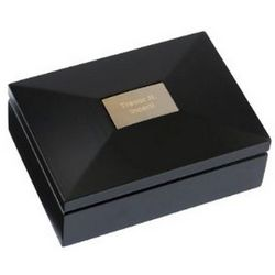 Black Wood Keepsake Box