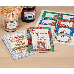 Gifts in a Jar Cookbooks Set