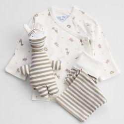 Unisex Organic New Baby Gift Set