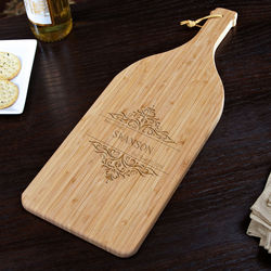 Personalized Family Home Cutting Board