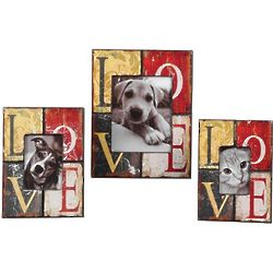 Colorful Love Photo Frames