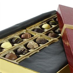 Assorted Gourmet Chocolate Crocodile Truffle Gift Box