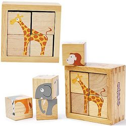 Safari Animals Buddy Blocks Puzzle