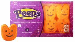 Peeps Halloween Pumpkin Treats