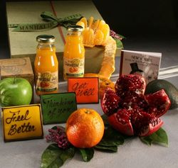 Get Well Fresh Fruit Hamper