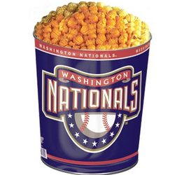 Washington Nationals 3-Way Popcorn Gift Tin