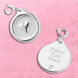 Heart Wax Seal Charm