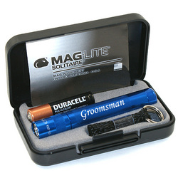 Engraved Mini Maglite Solitaire Gift Set