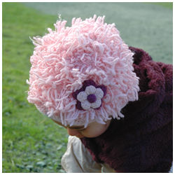 Flower Power Zooni Baby Hat