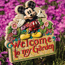 Mickey Mouse Welcome Garden Sign