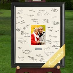 Personalized Celebration Anniversary Signature Frame