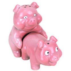 Naughty Pigs Salt and Pepper Shaker