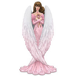 Messenger of Hope Breast Cancer Figurine