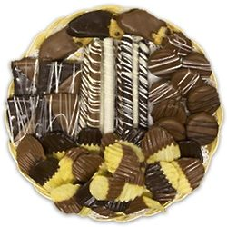 Chocolate and Chips Gourmet Chocolate Tray