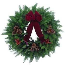 "The Met 24"" Christmas Wreath"