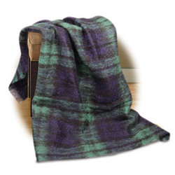 Blackwatch Mohair Throw