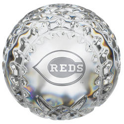 Waterford Crystal Cincinnati Reds Baseball