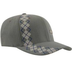 Argyle Stripe Flexfit Ball Cap