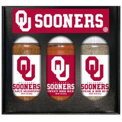 Oklahoma Sooners Spice Set