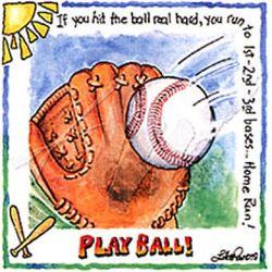 Youth Play Ball Baseball T-Shirt