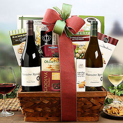 Harlow Ridge Winery Duet Wine Basket