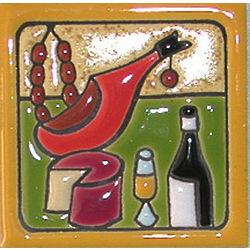 Ceramic Tapas Magnet