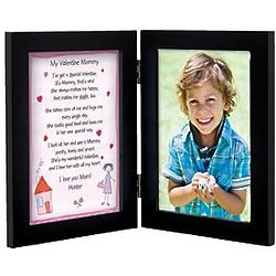 Personalized Mommy Valentine Framed Print From 1 Child