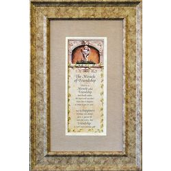 Miracle of Friendship Framed Print