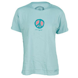Life Is Good Elemental Peace Crusher Tee