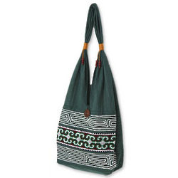 Lanna Forest Cotton Sling Bag