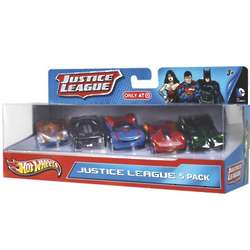 Justice League Hot Wheels
