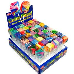 Tie Dye Cube Pops in Display Box