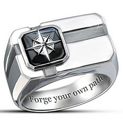 Forge Your Own Path My Son Ring